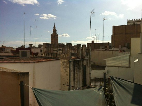 Corral del Rey: View from the roof terrace
