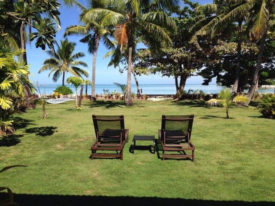 Musket Cove Island Resort : Ocean Bure View
