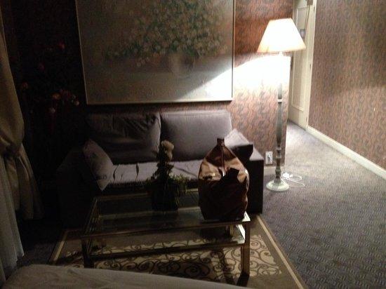 Hotel Beatus : Sitting area
