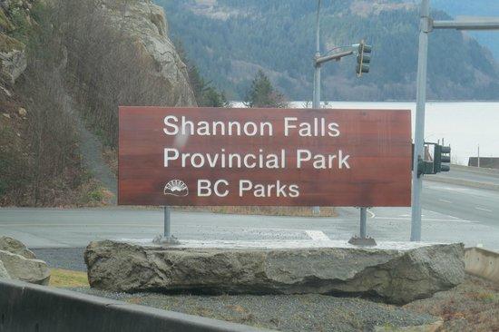 Shannon Falls Provincial Park: Shannon Falls PP BC