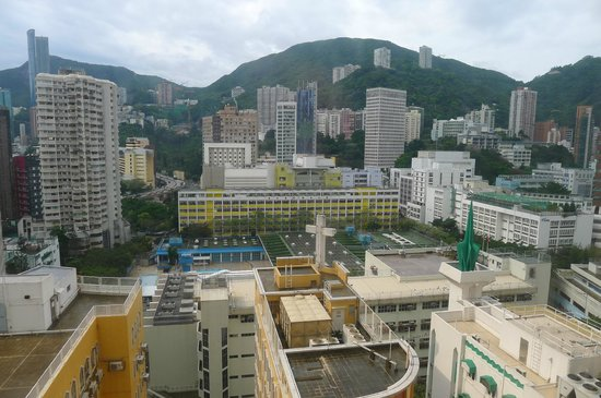 The Charterhouse Causeway Bay Hotel: View out from room 1106