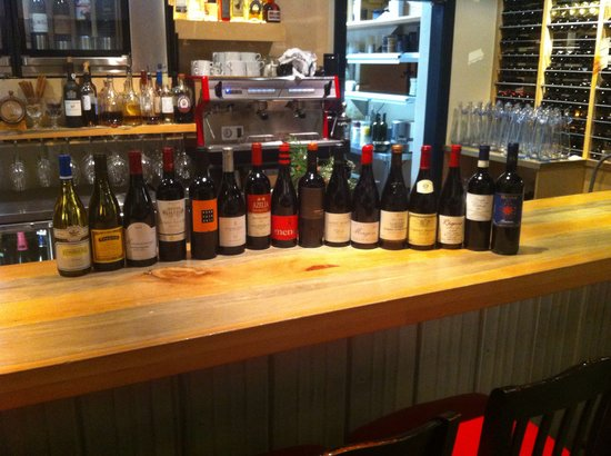 Alta Bistro : Award winning wine list with something delicious to please all palettes