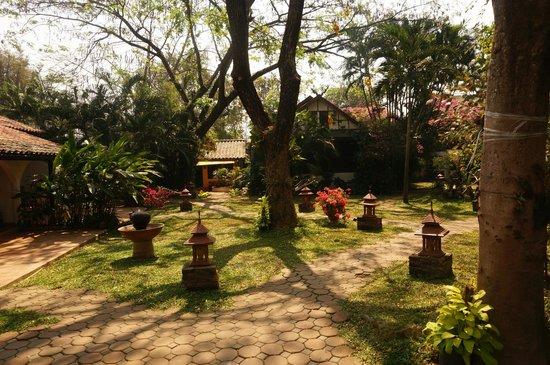 Secret Garden Chiang Mai: Jardin tropical