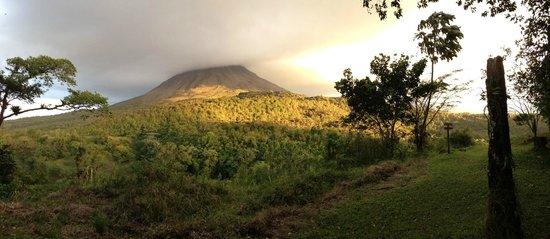 Hotel Vagabondo: vulcano arenal