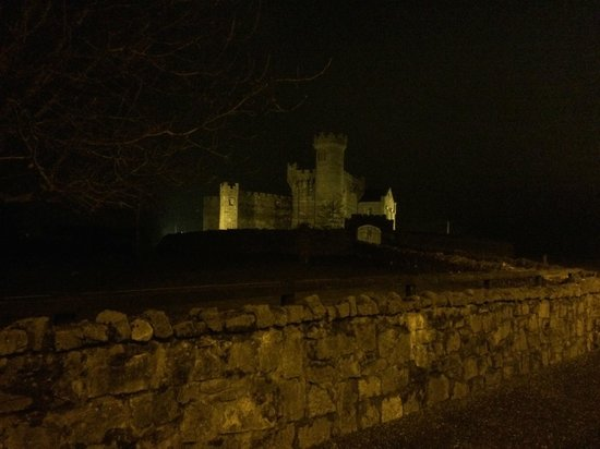 Carrigeen Castle: By night