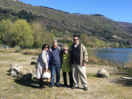 Romelimousinetour : With Rolando at the Lake-Castel Gandolfo