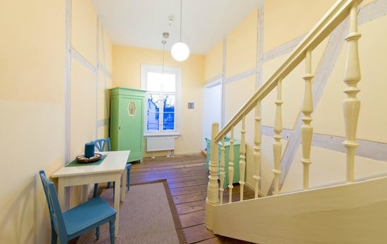 Hotel Strandvillen Bethanienruh: Flur vom Haus Lug ins Meer