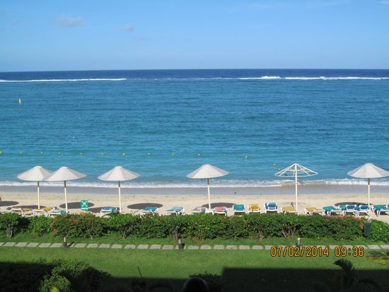 Pearle Beach Resort & Spa: view from balcony
