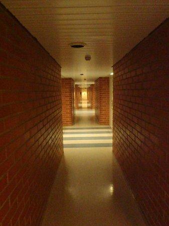 Spa Kivitippu: Corridor
