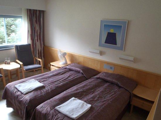 Spa Kivitippu: Room at day light.