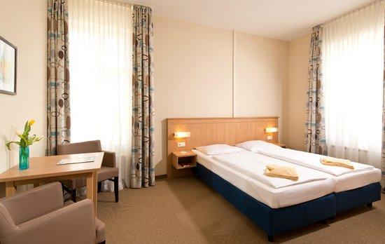 Hotel Strandvillen Bethanienruh: Doppelzimmer im Haus Lug ins Meer