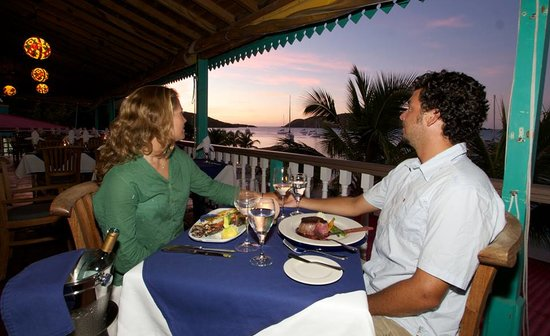 The Restaurant at Leverick Bay : Elegant dining with stunning views