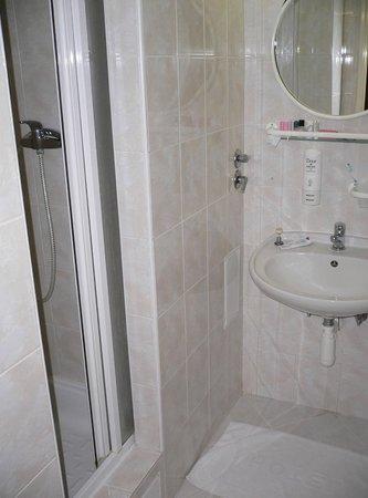 Three Crowns Hotel: ванная комната