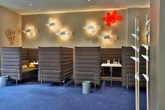 Mercure Nantes Centre Grand Hotel : Espace EASYWORK