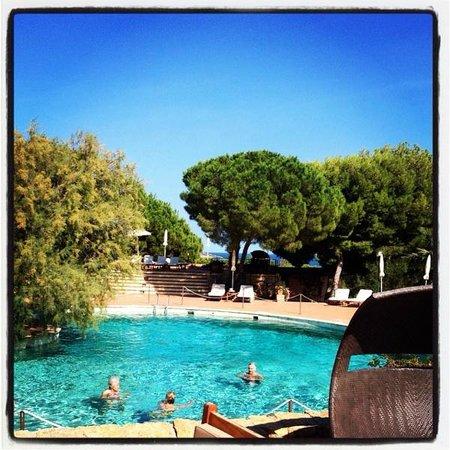 Hotel Le Ginestre: У бассейна