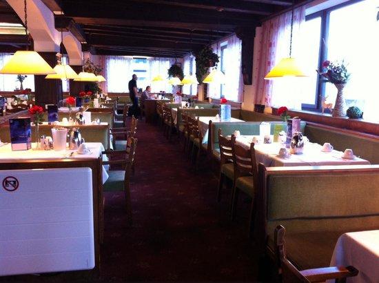 Hubertushof: Ресторан