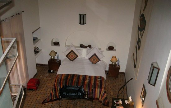 Riad Laaroussa Hotel and Spa : Our fabulous room