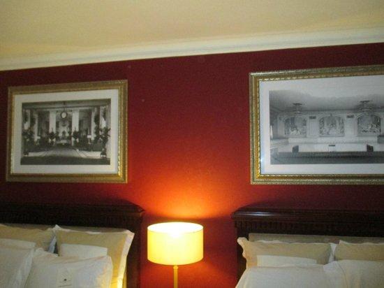 The Roosevelt Hotel : dans la chambre