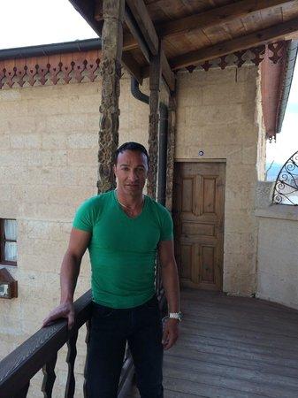 Has Cave Konak Hotel: balcony