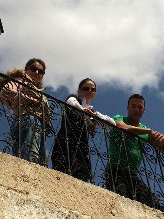Has Cave Konak Hotel: terrace