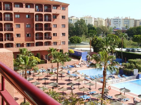 Myramar Fuengirola Hotel : view from our balcony