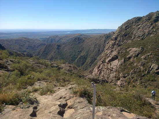 Quebrada del Rio Condorito (Condorito River's Gorge) : Vista