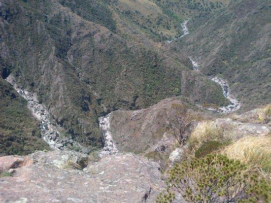 Quebrada del Rio Condorito (Condorito River's Gorge) : Vista del cauce del Río