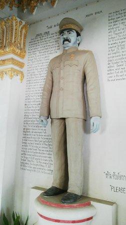 War Museum : Stalin statue