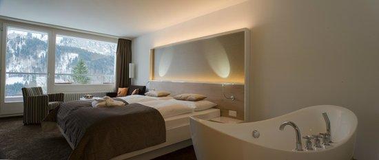 Hotel Waldegg: Deluxe Doppelzimmer
