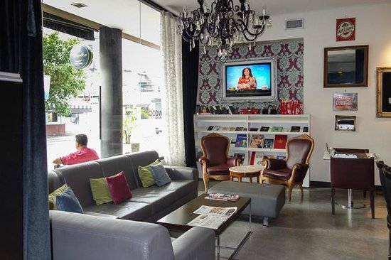 Be Hollywood! Boutique Hotel: Lounge