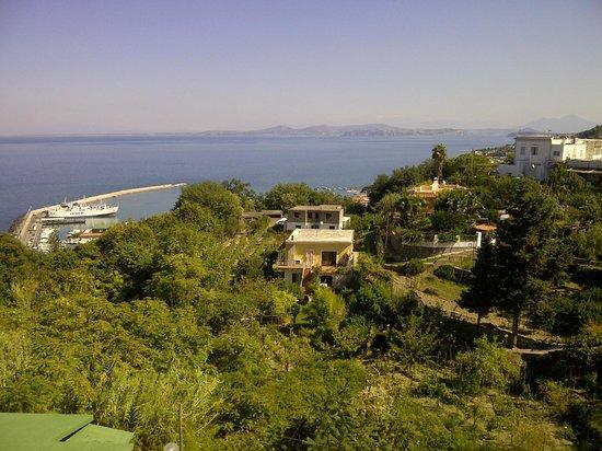 Villa D'Orta Hotel : Vista spettacolare dalla terrazza dell'Hotel Villa D'Orta