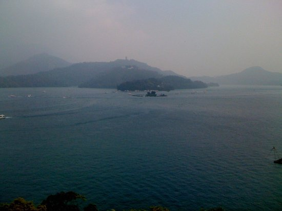 The Lalu Sun Moon Lake: View from the hotel