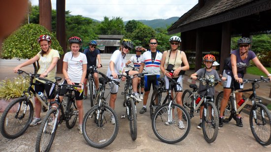 Trek With Jame - Day Cycling