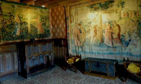 Château de Langeais : Tapestry room