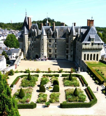 Château de Langeais : Inner court