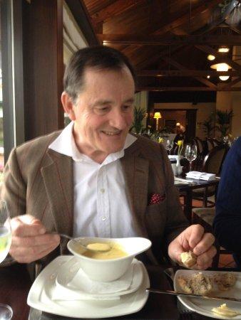 Conservatory Restaurant at Crown Hotel: Soup starter