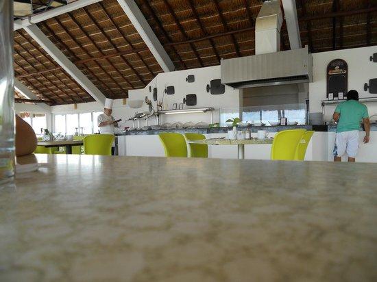 Krystal Cancun : Uno de los restaurantes