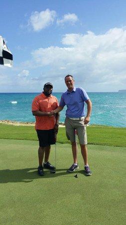 Punta Espada Golf Course : Great playing partner, great views, great caddie.