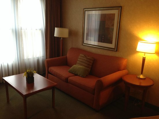 Homewood Suites by Hilton Lincolnshire : suite