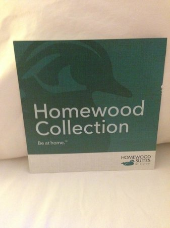 Homewood Suites by Hilton Lincolnshire: Homewood card in suite