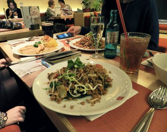 cha cha - positive eating: riso con verdure