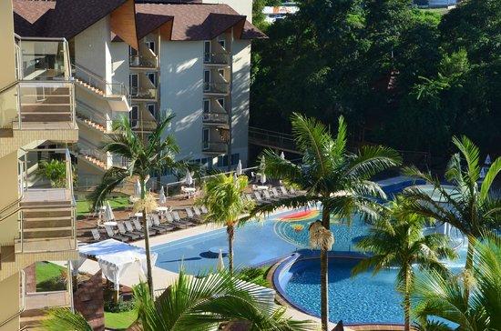 Recanto Cataratas Thermas Resort & Convention: Вид с балкона (днем)