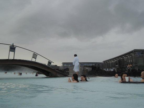 Silica Hotel: Public hot spring area