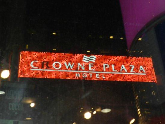Crowne Plaza Times Square Manhattan : Fachada