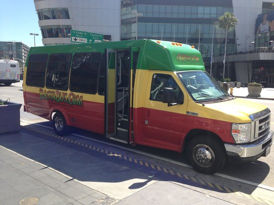 A Day in LA Tours : The Rasta Bus