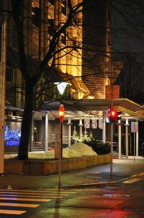 Radisson Blu Ridzene Hotel: собственно сам отель