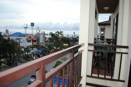 White Sand Krabi Hotel: Вид из номера