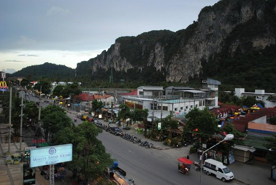 White Sand Krabi Hotel : Вид из номера