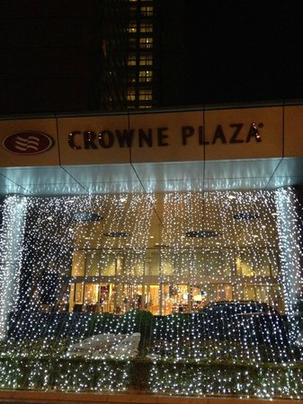 Crowne Plaza Shanghai Fudan : Hotel Entrance
