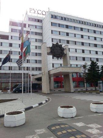 Rushotel: Exterior hotel
